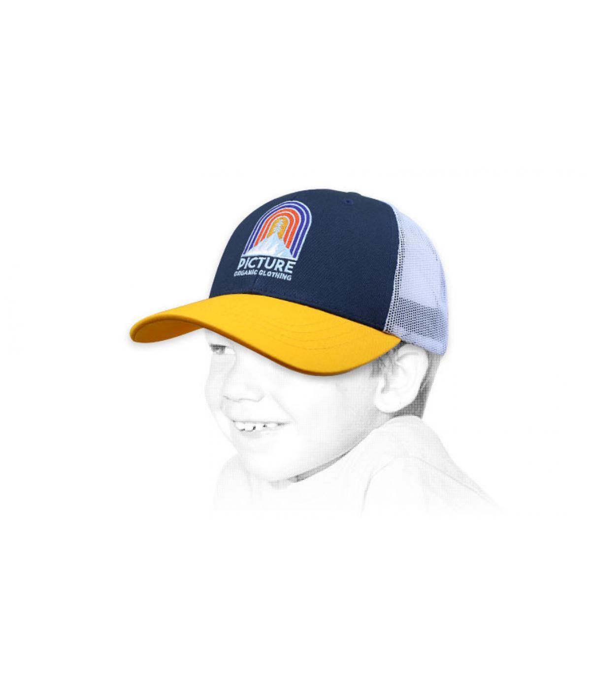 Picture trucker bambino giallo