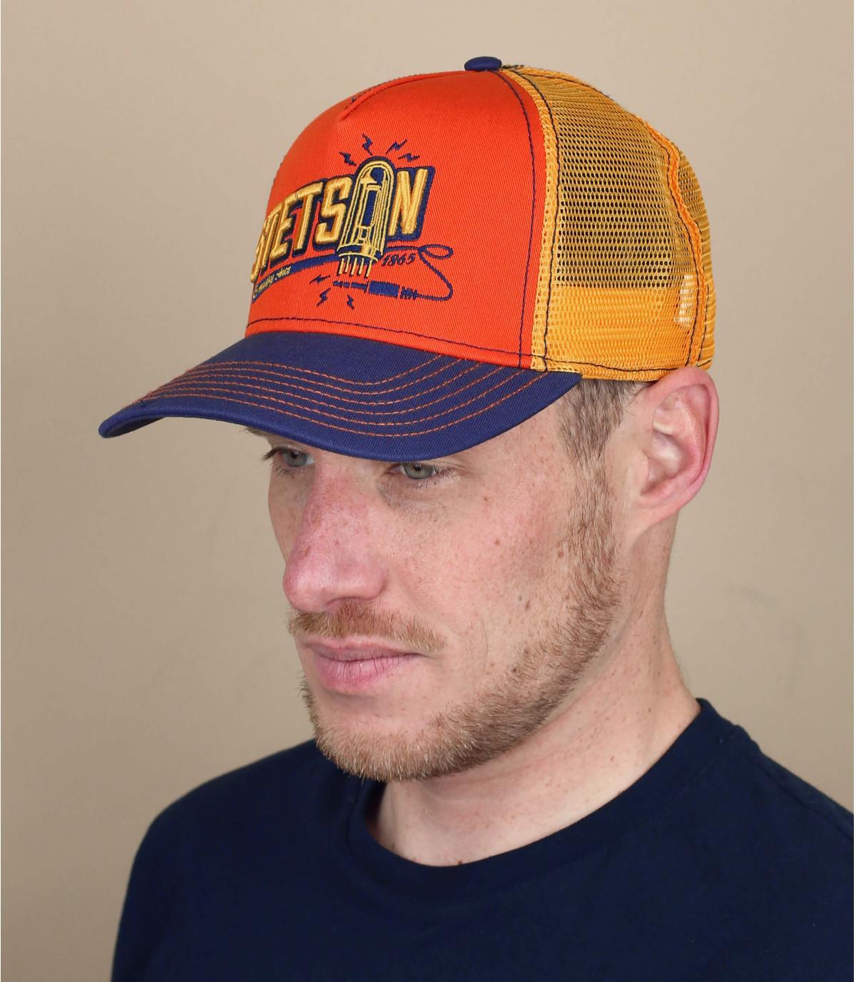 camionista arancione di Stetson