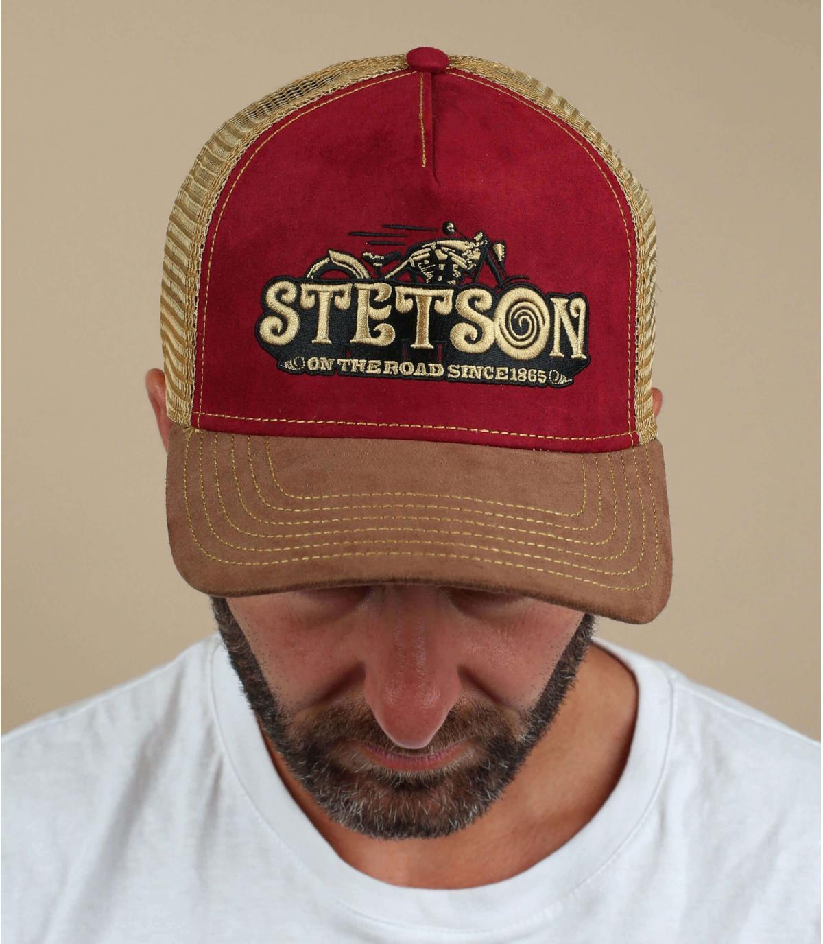 camionista motociclista bordeaux Stetson