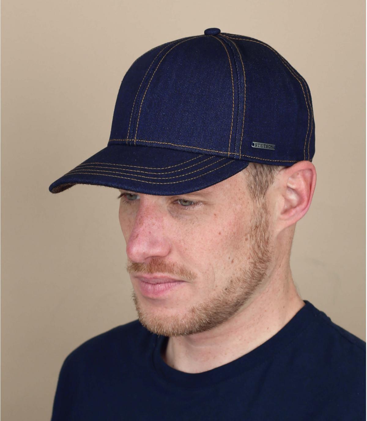 Cappellino jeans Stetson