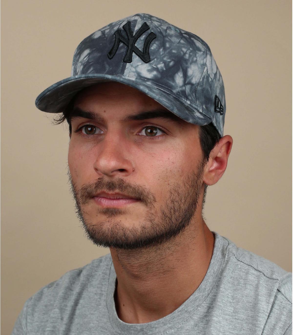 Cappellino tie dye NY