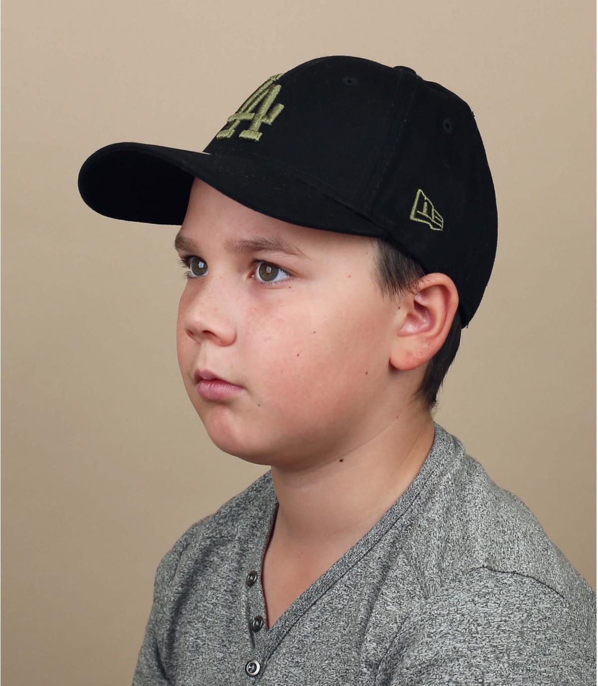 Cappellino da bambino nero LA