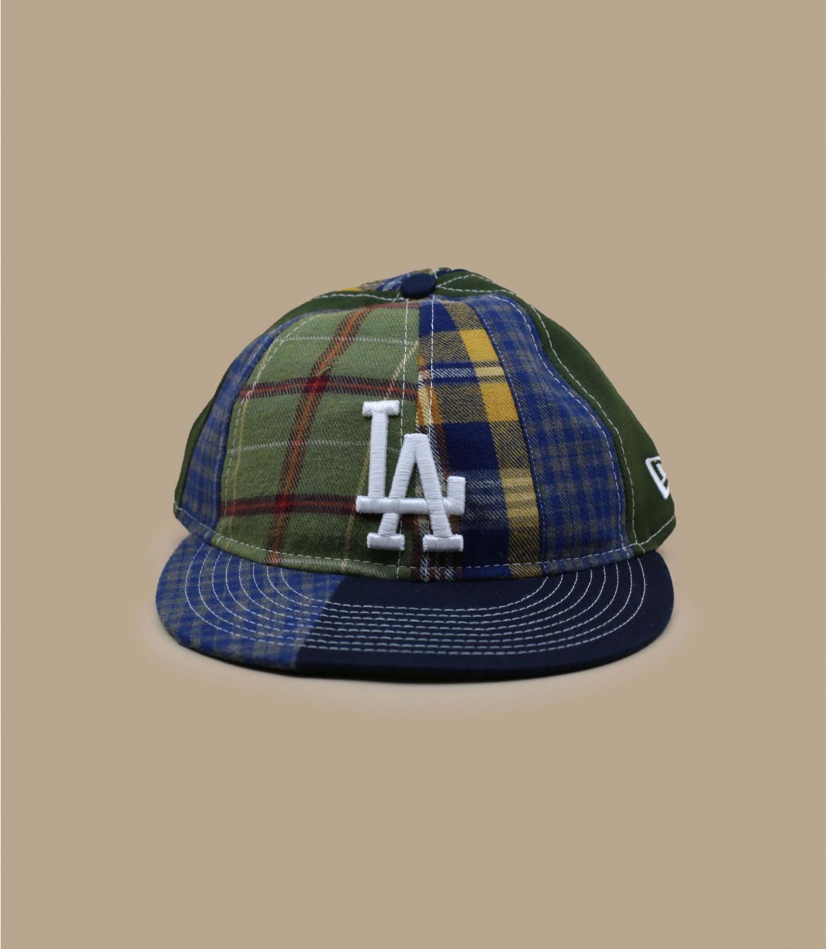 Cappellino patchwork LA