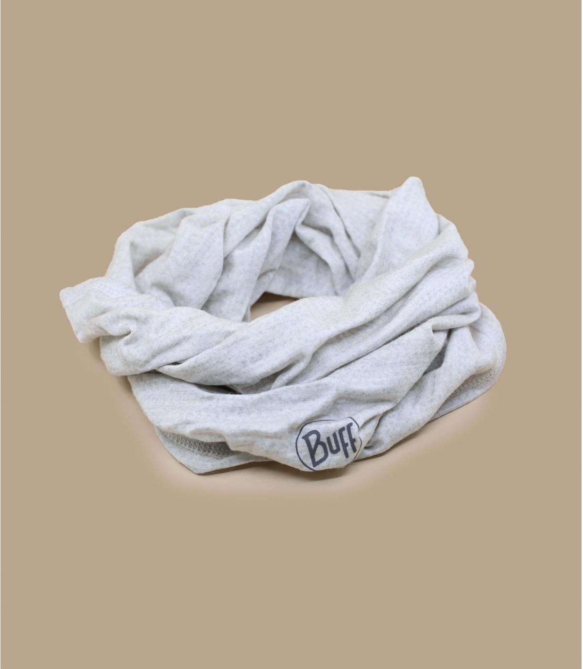 Buff lana merino bianca