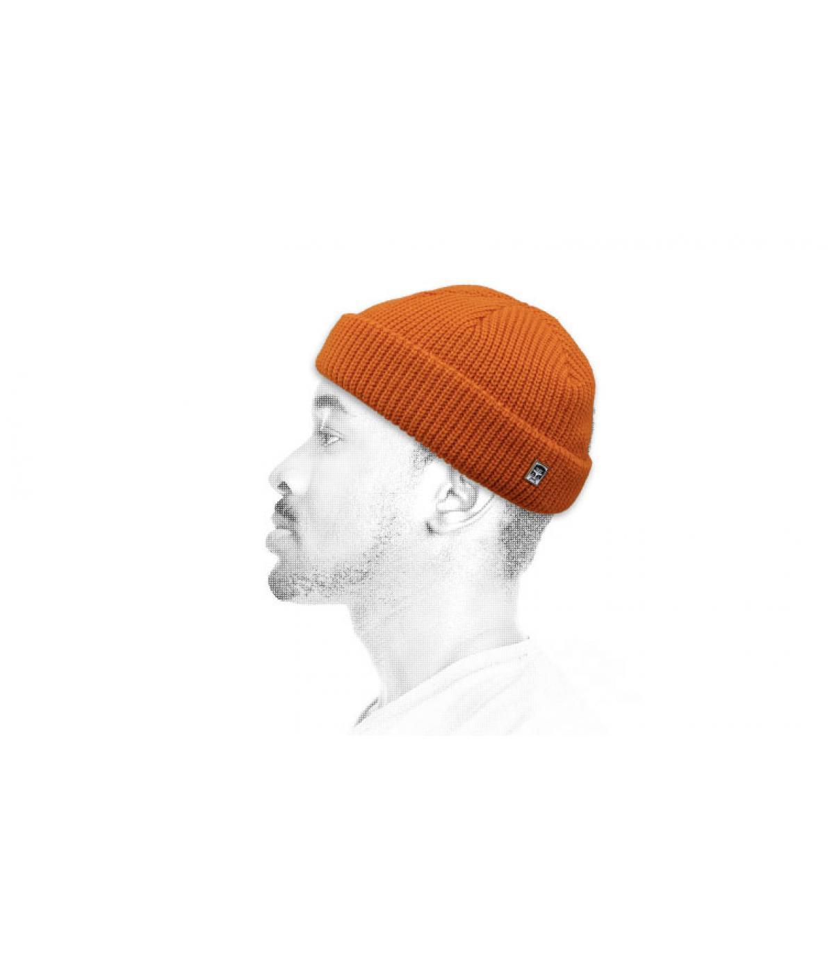 Obey cappello docker arancione
