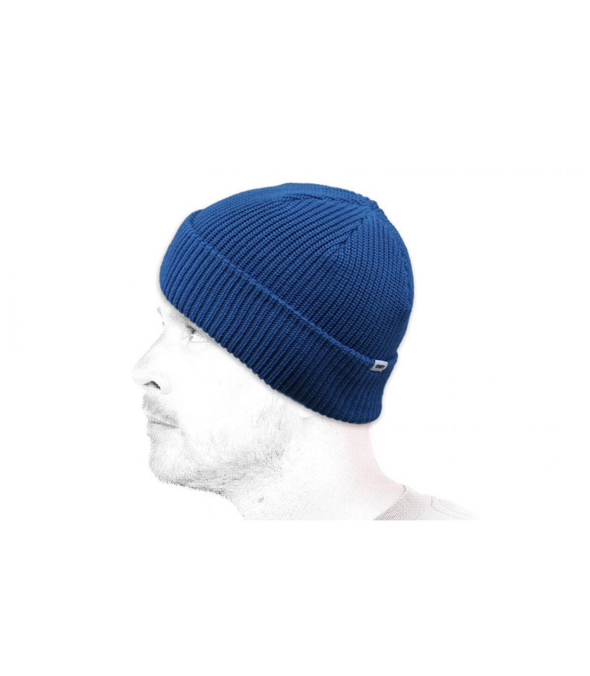 Obey berretto azzurro