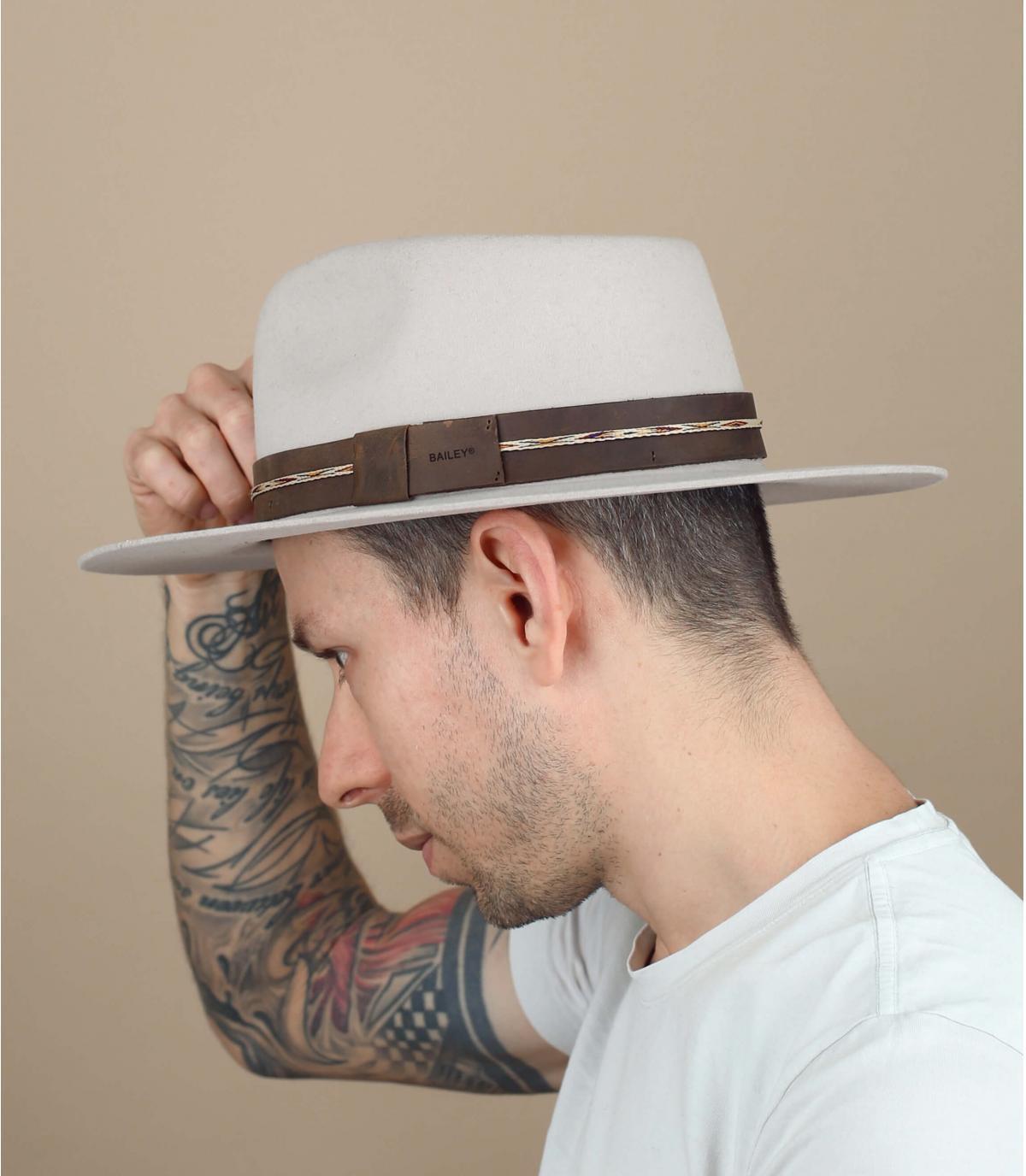 cappello in feltro Bailey beige