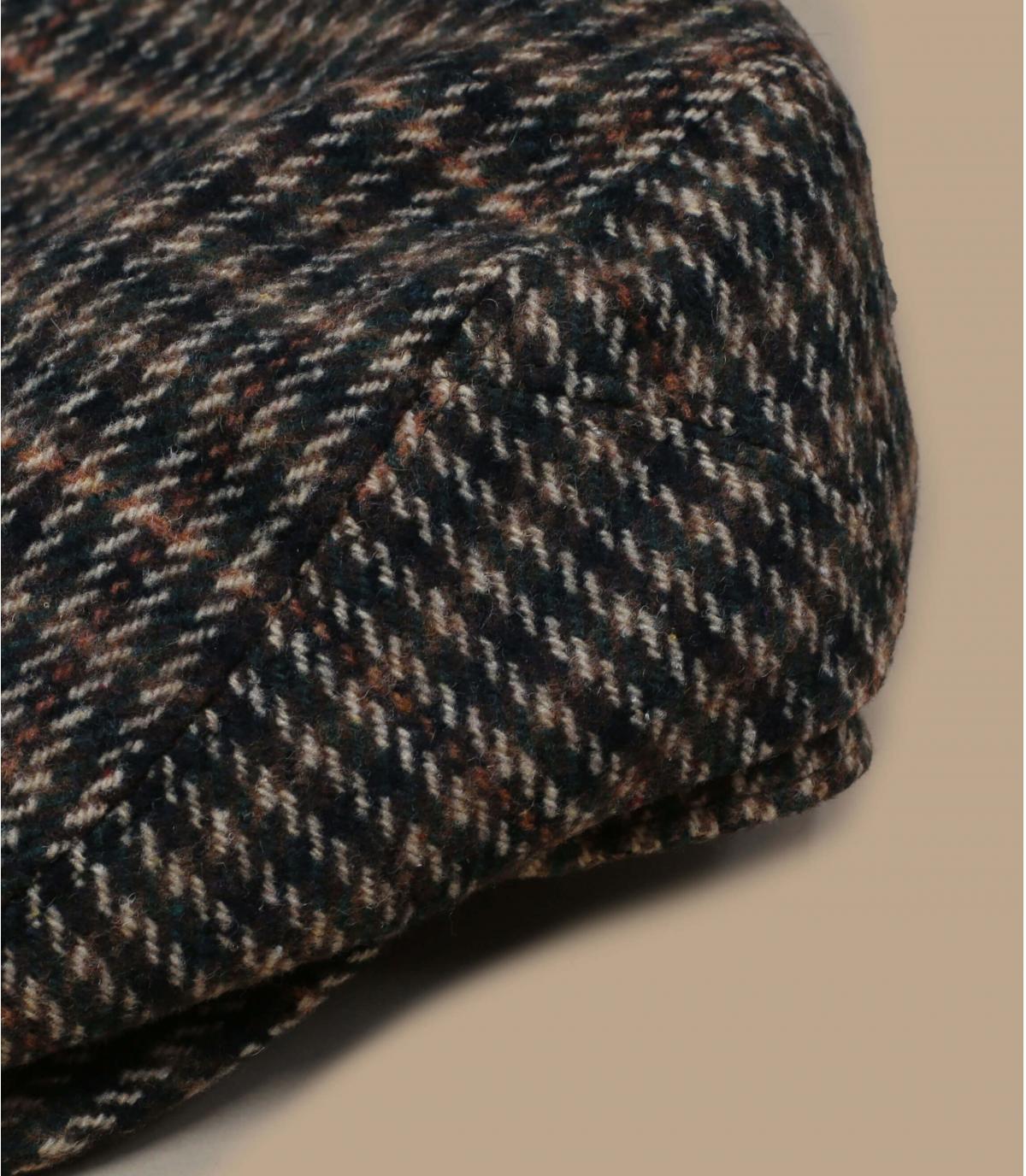 Berretto di lana a quadri