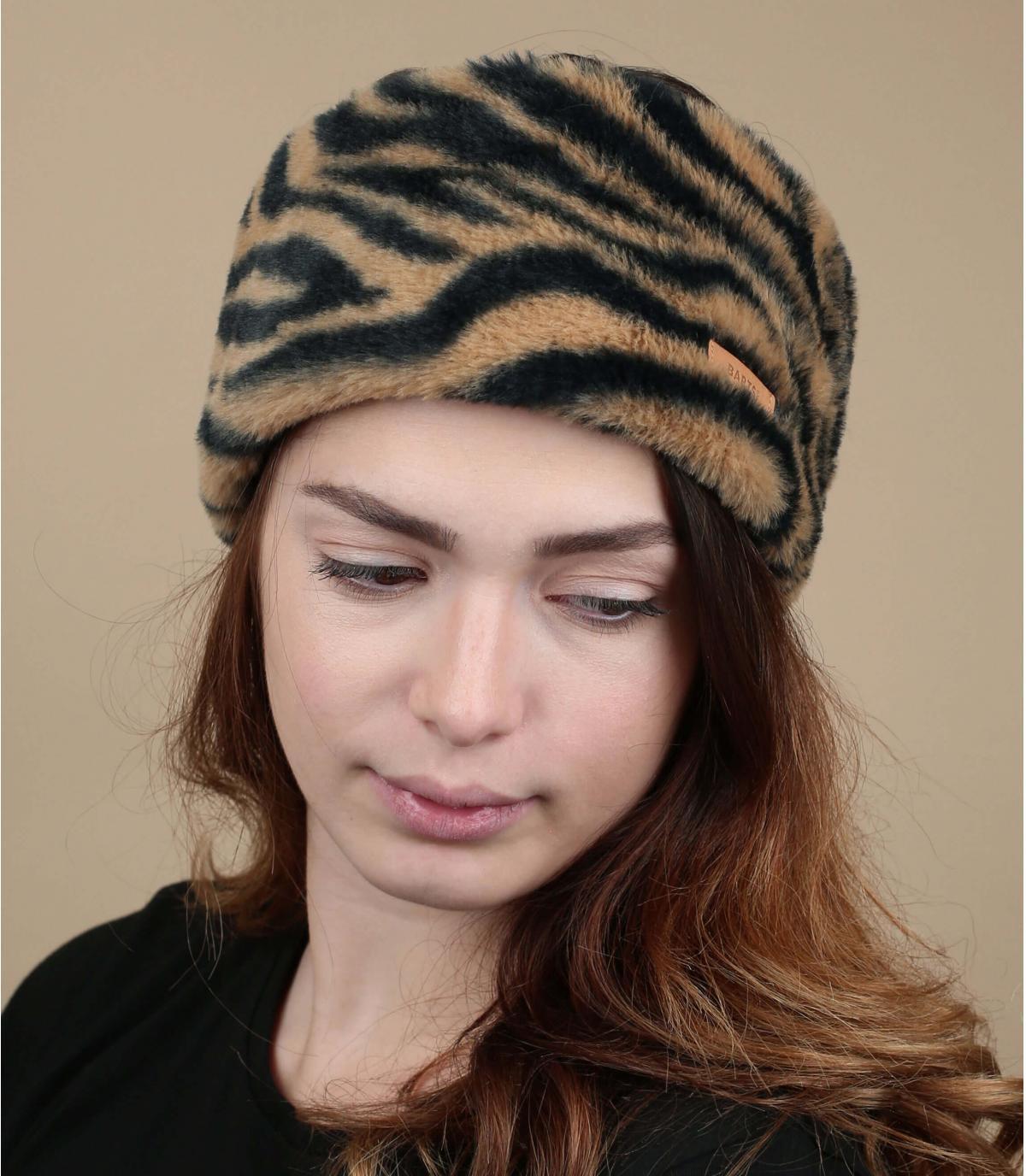 archetto di pelliccia di tigre