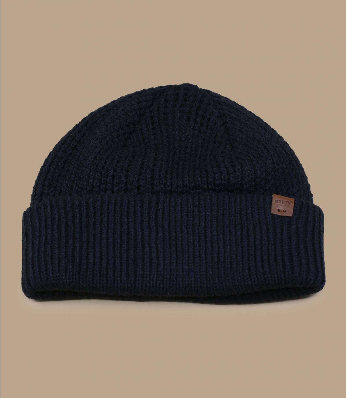 cappello docker blu scuro