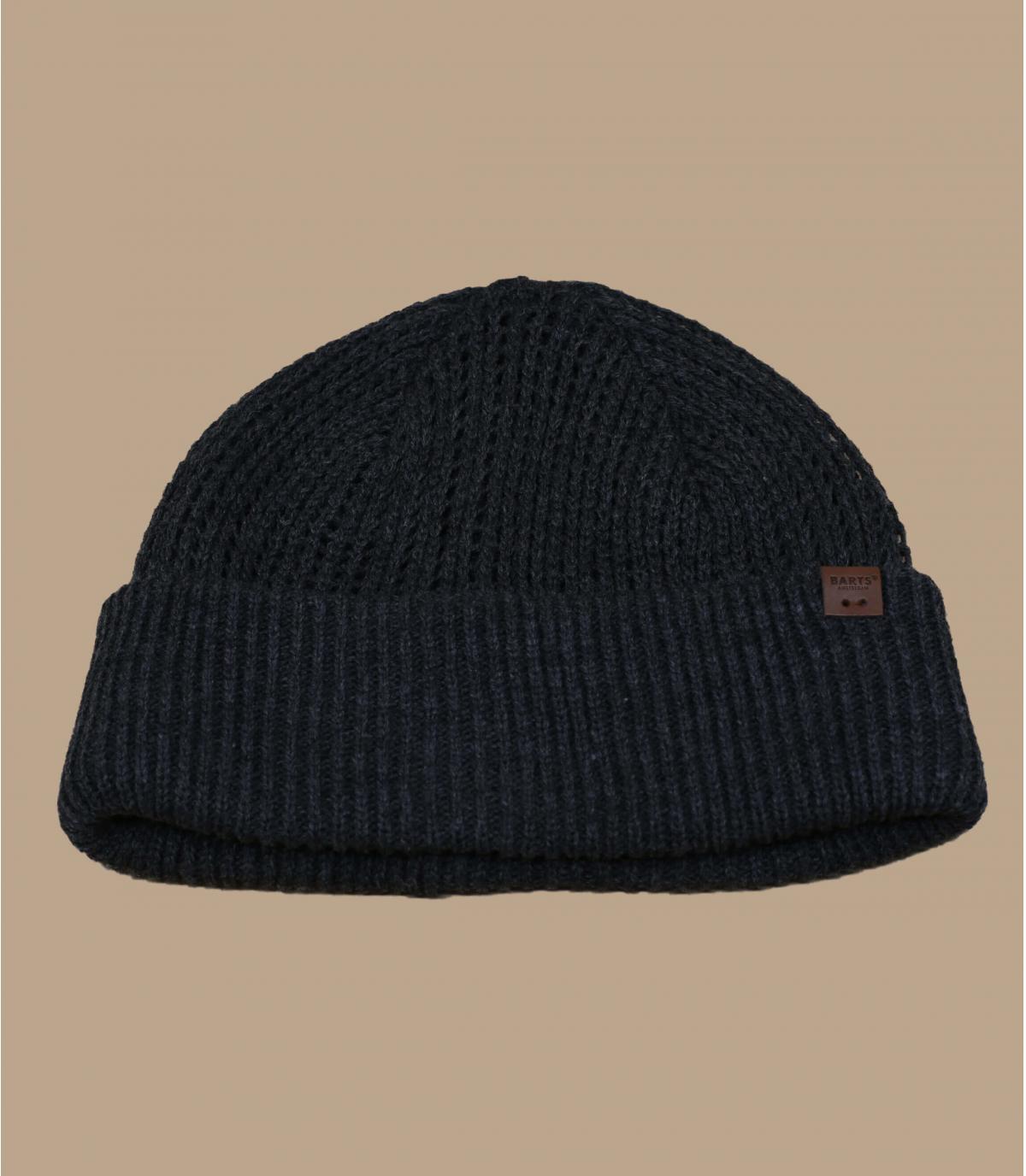cappello docker grigio melange