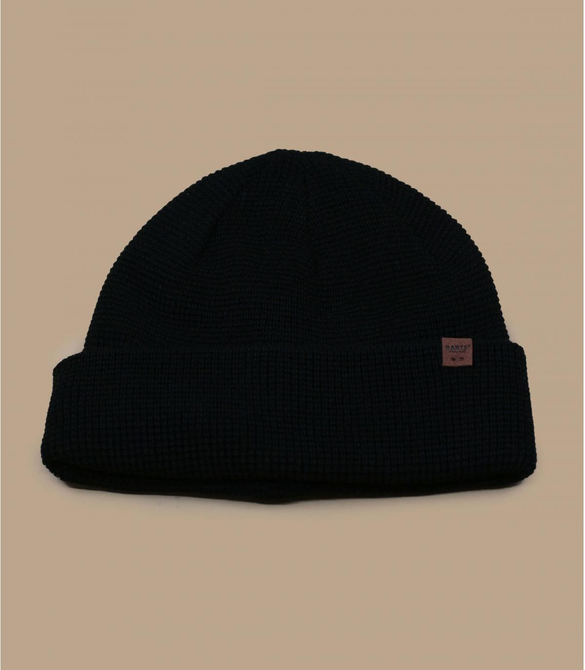berretto lungo nero