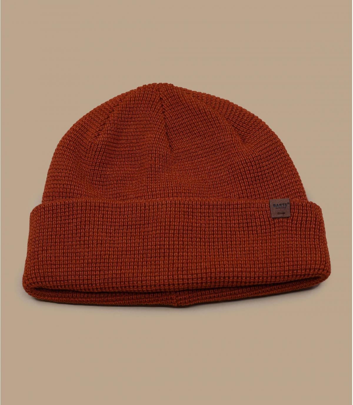 berretto arancione lungo