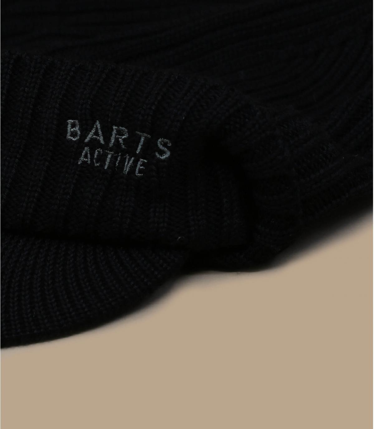 berretto con visiera Barts nera
