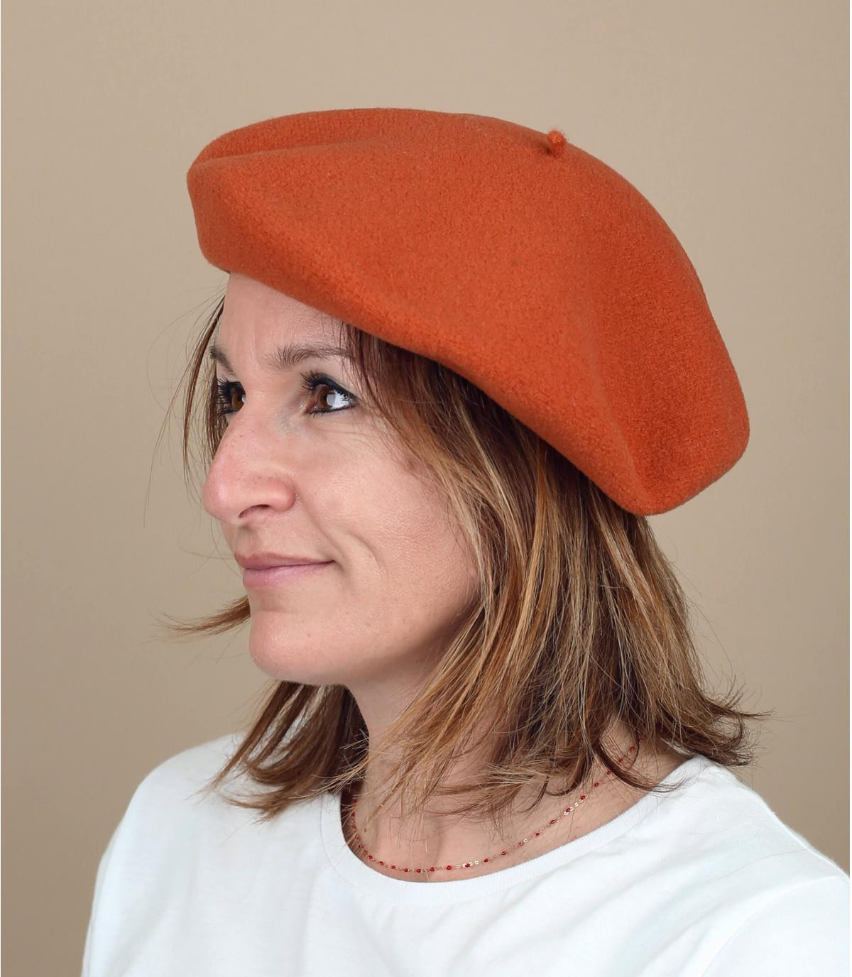 Berretto arancione Laulhère