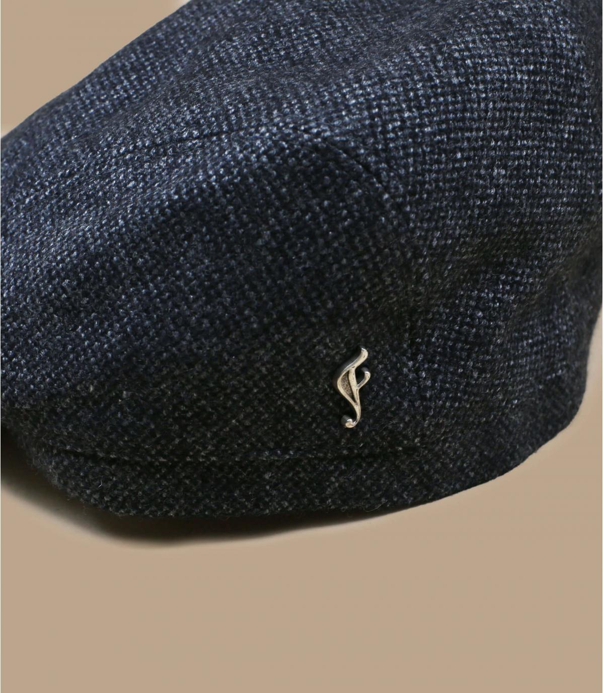 berretto di lana organico grigio