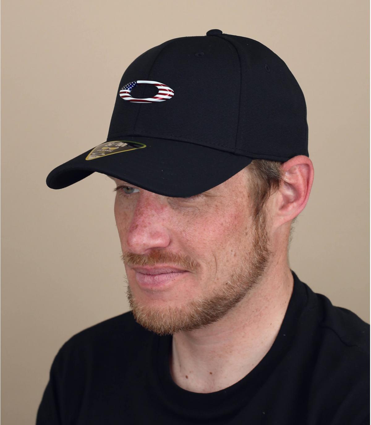 Cappellino con logo Oakley