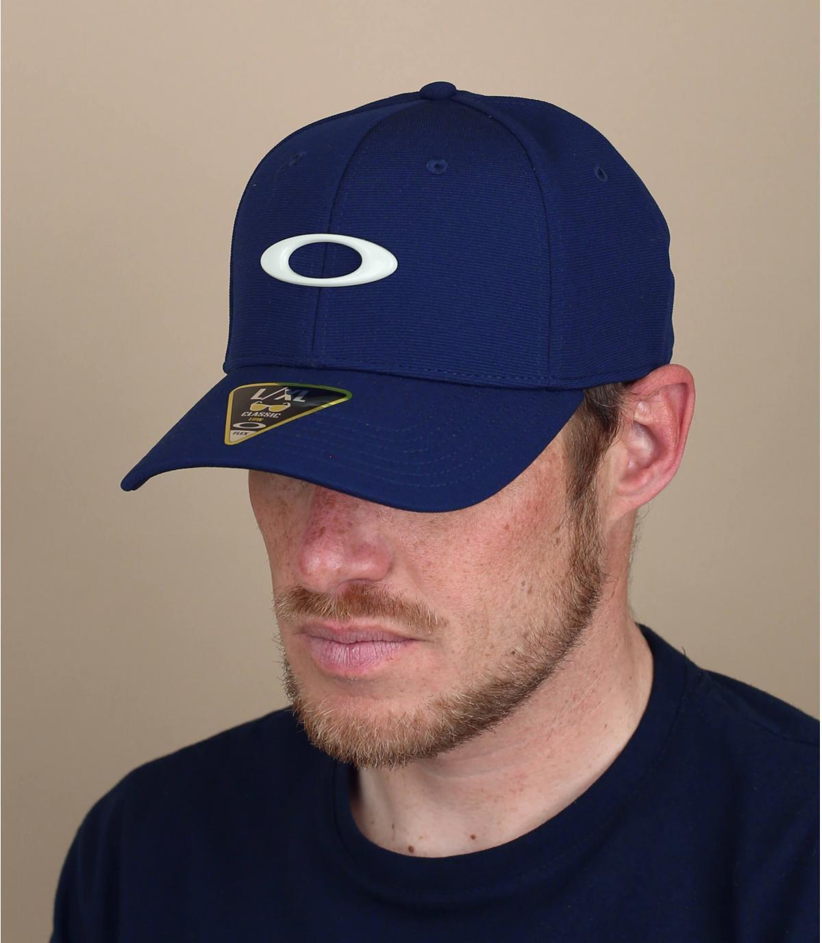 Cappellino Oakley blu navy