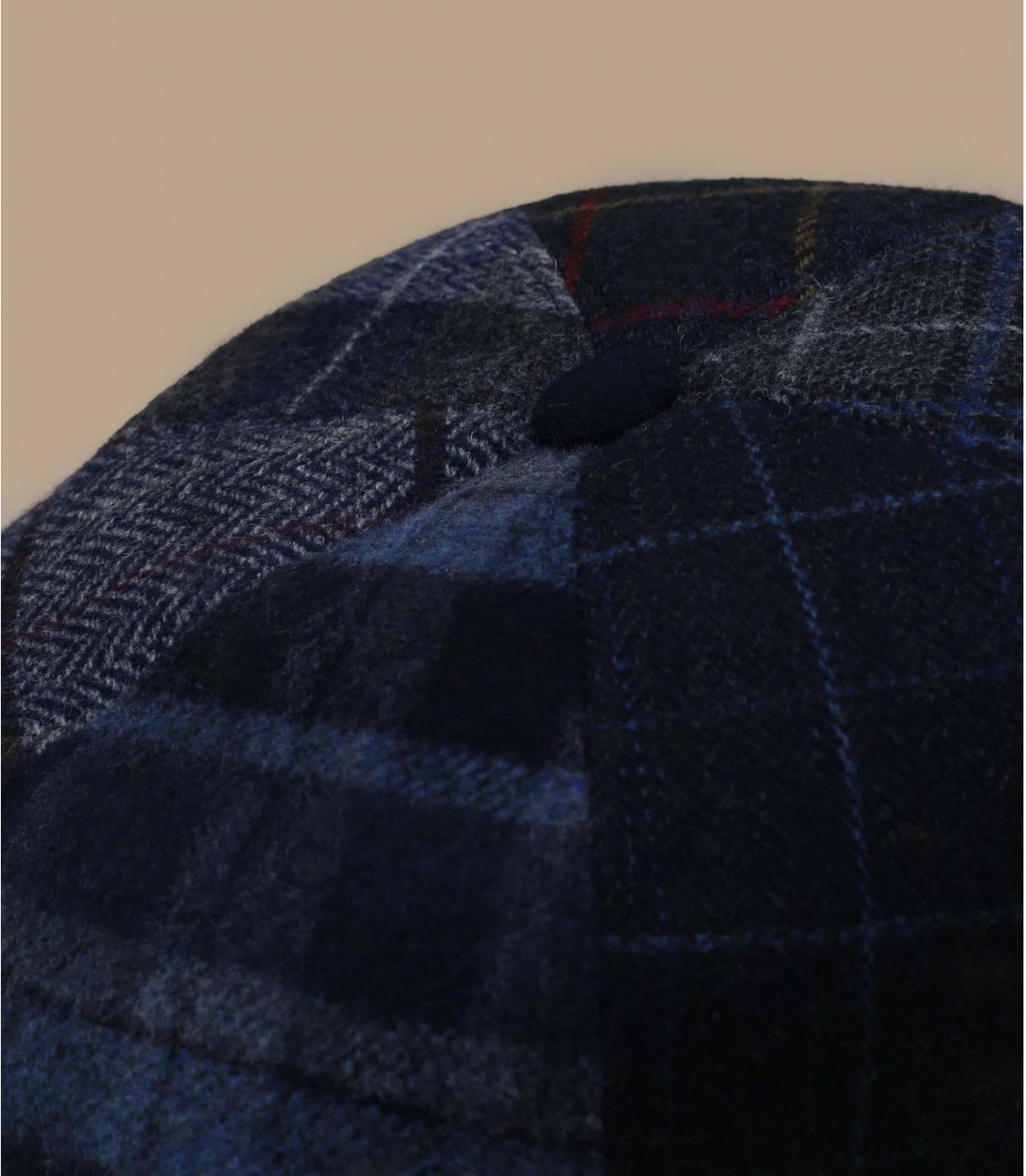 berretto da strillone blu