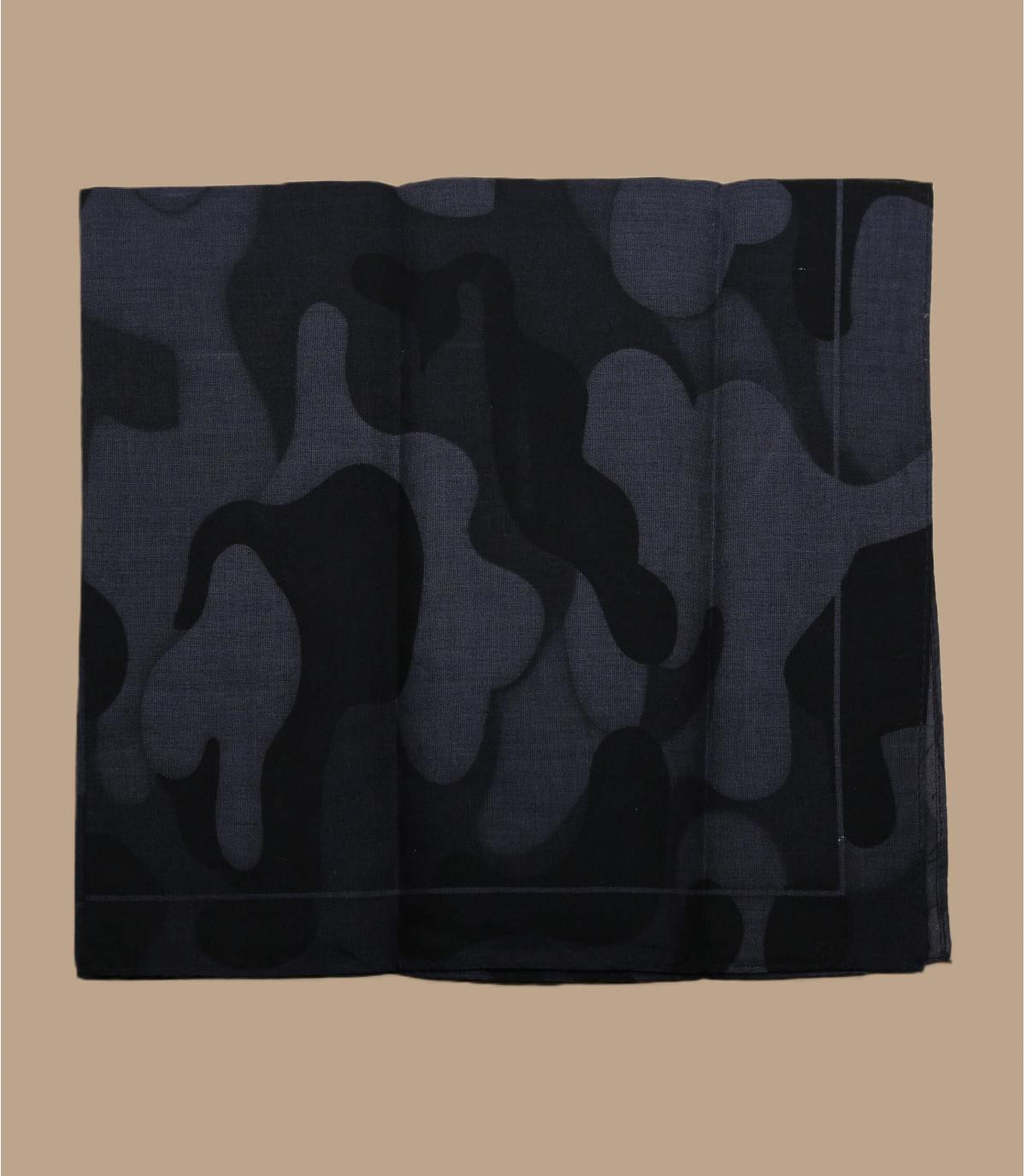 Bandana camo nera