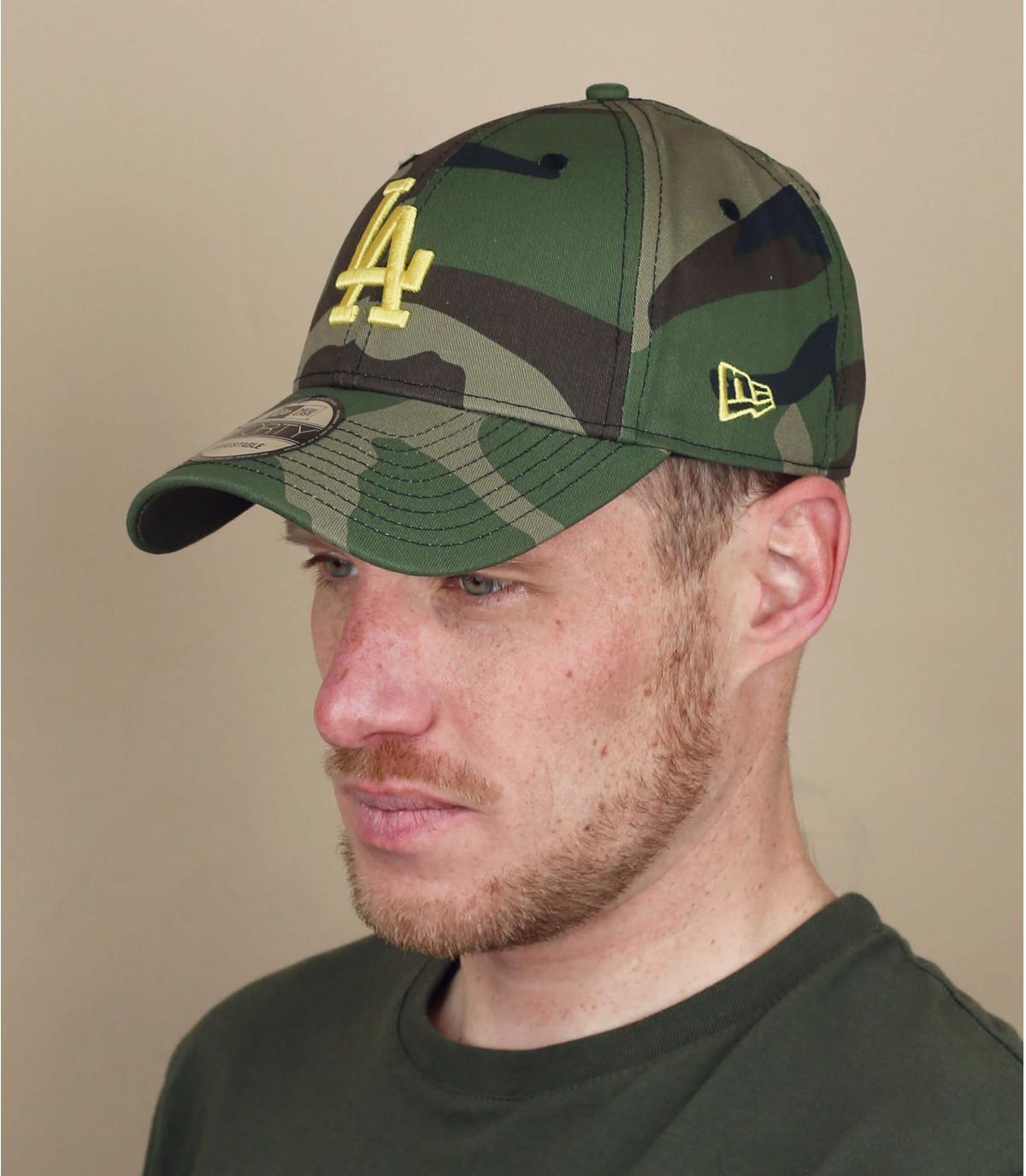 Cappellino mimetico LA