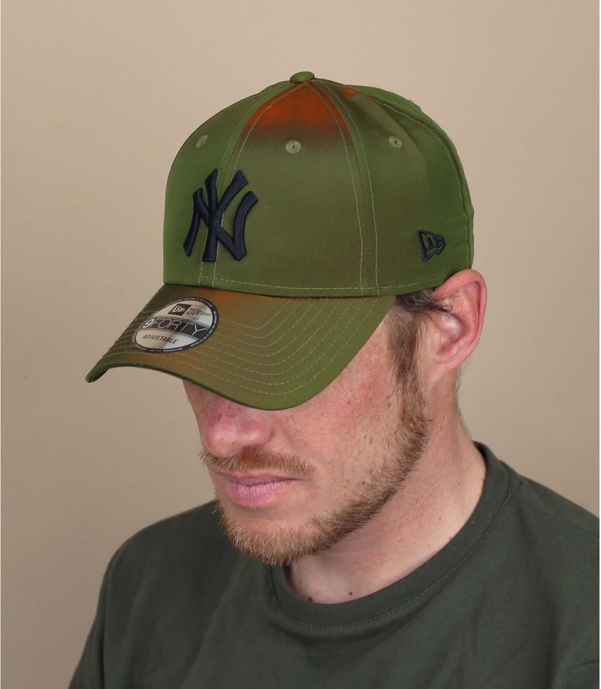 berretto NY verde