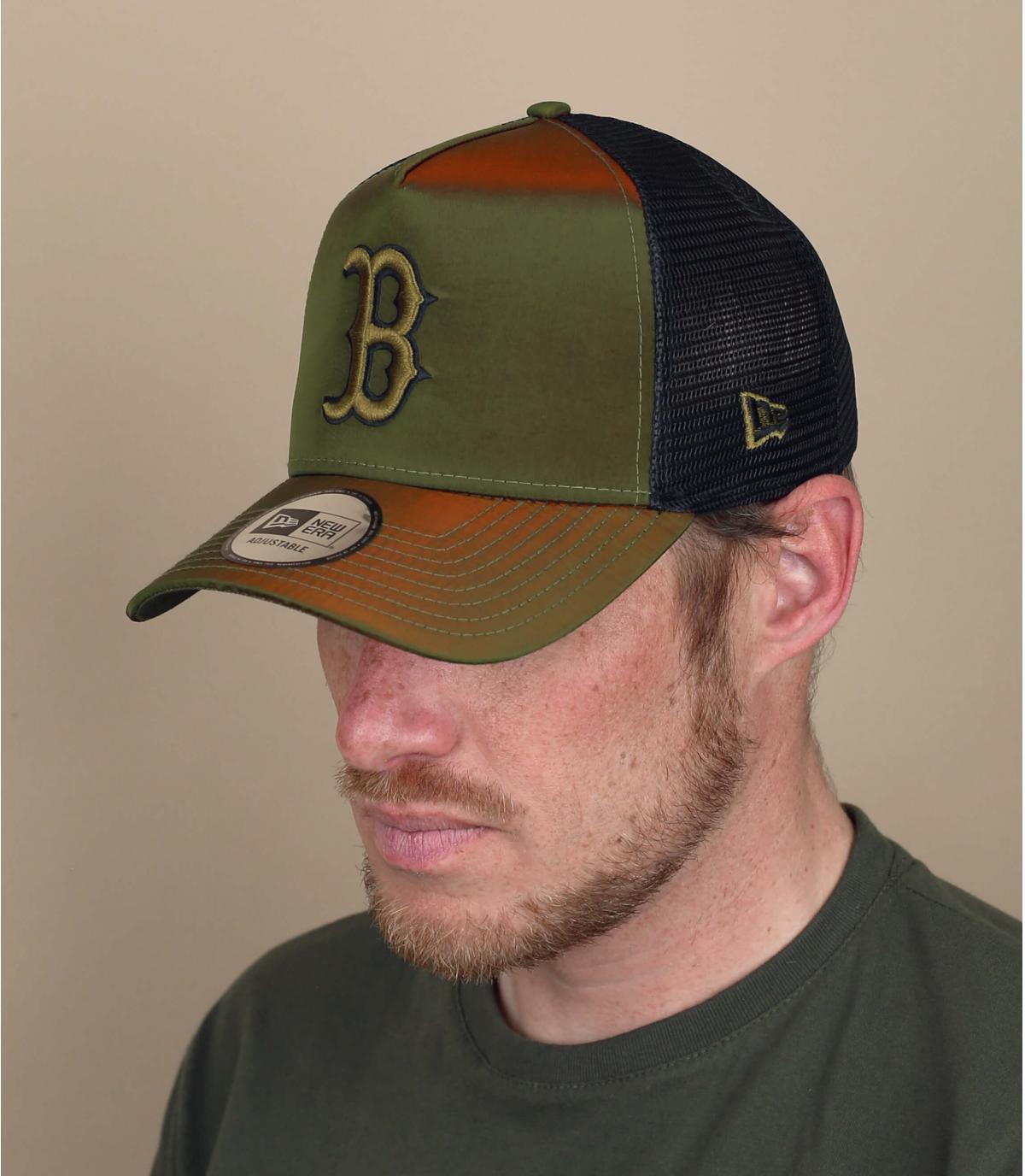 camionista B riflessione verde