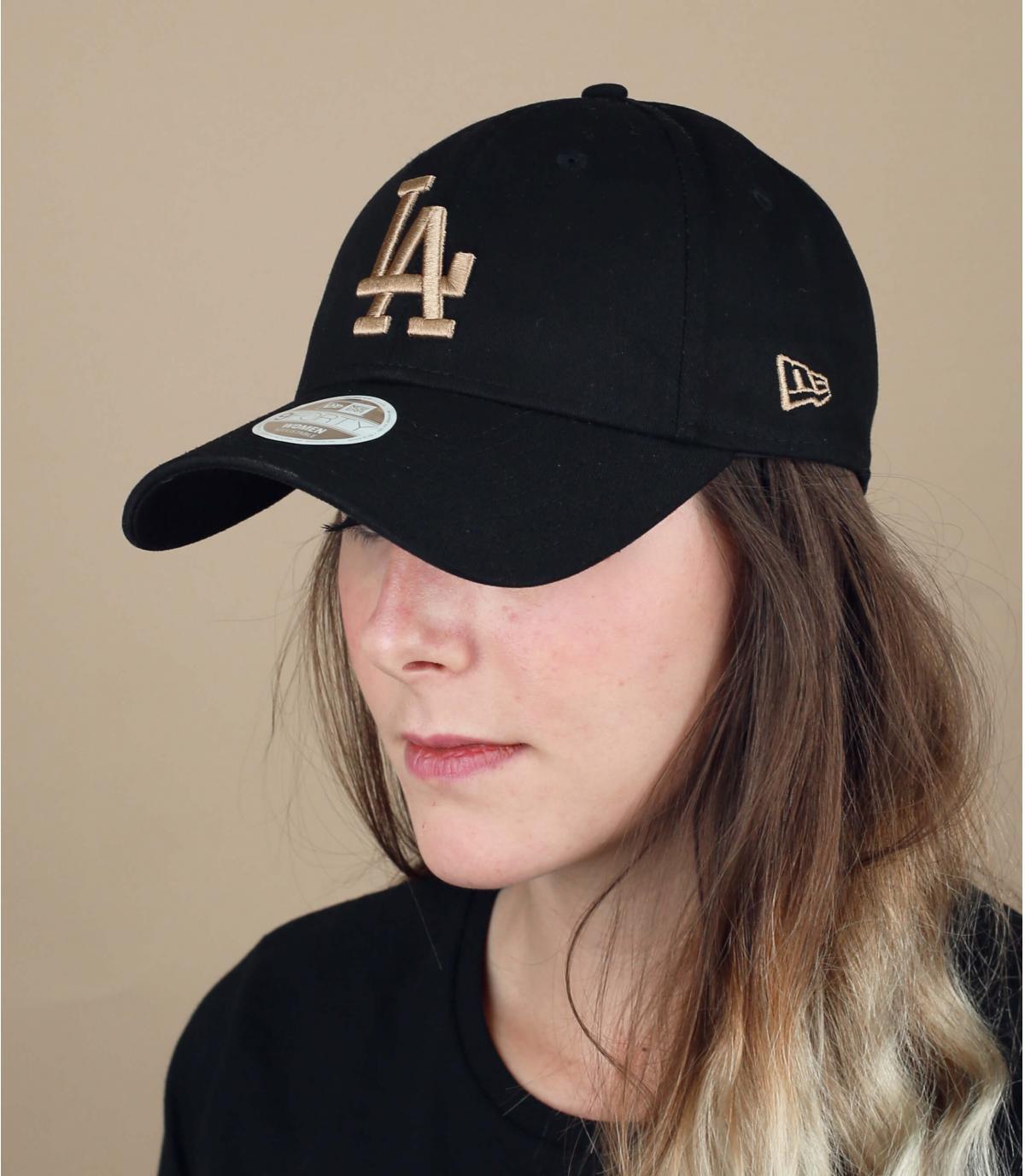 berretto LA donna nero
