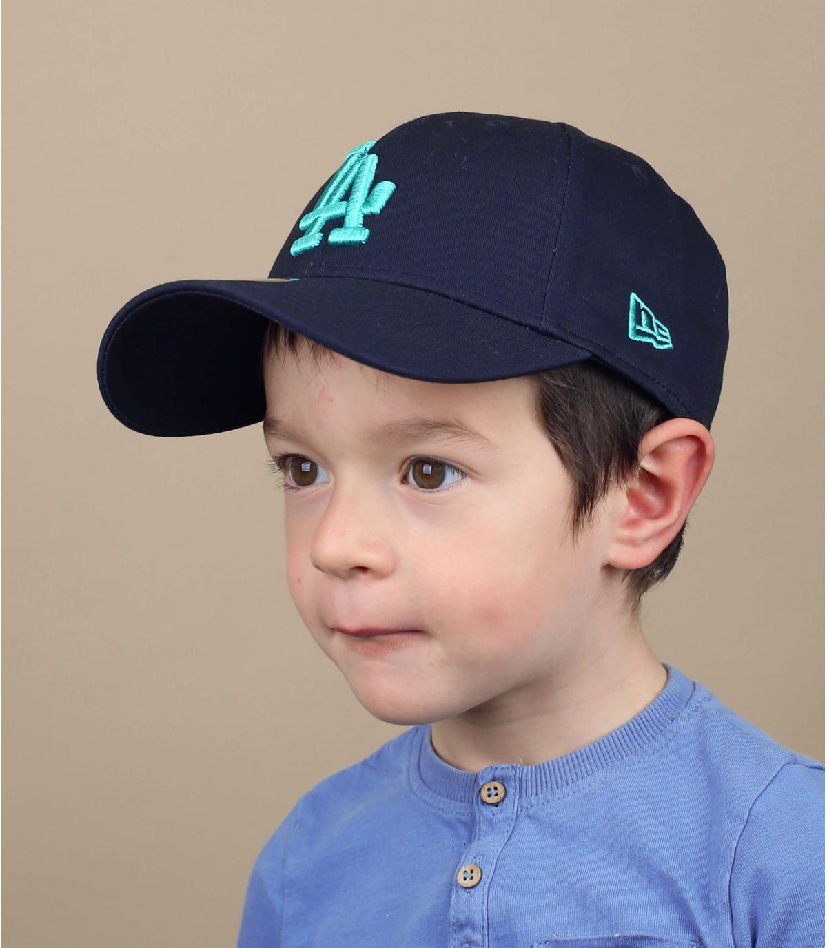 berretto LA blu per bambini