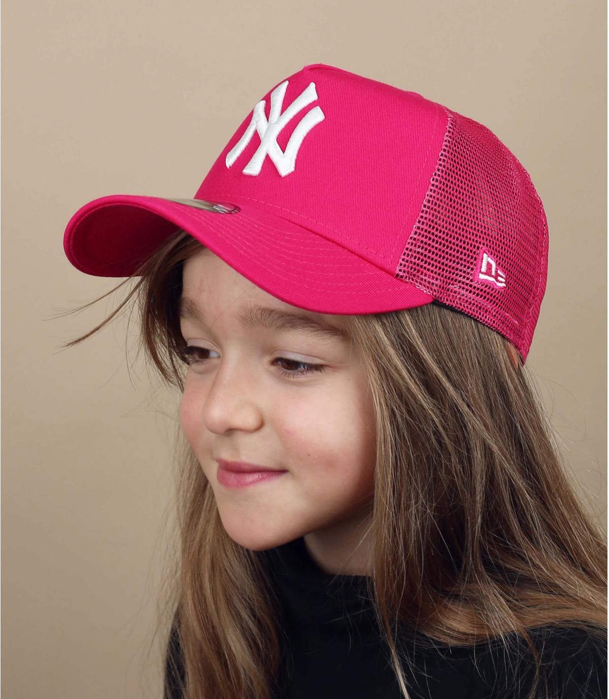 camionista bambino rosa NY