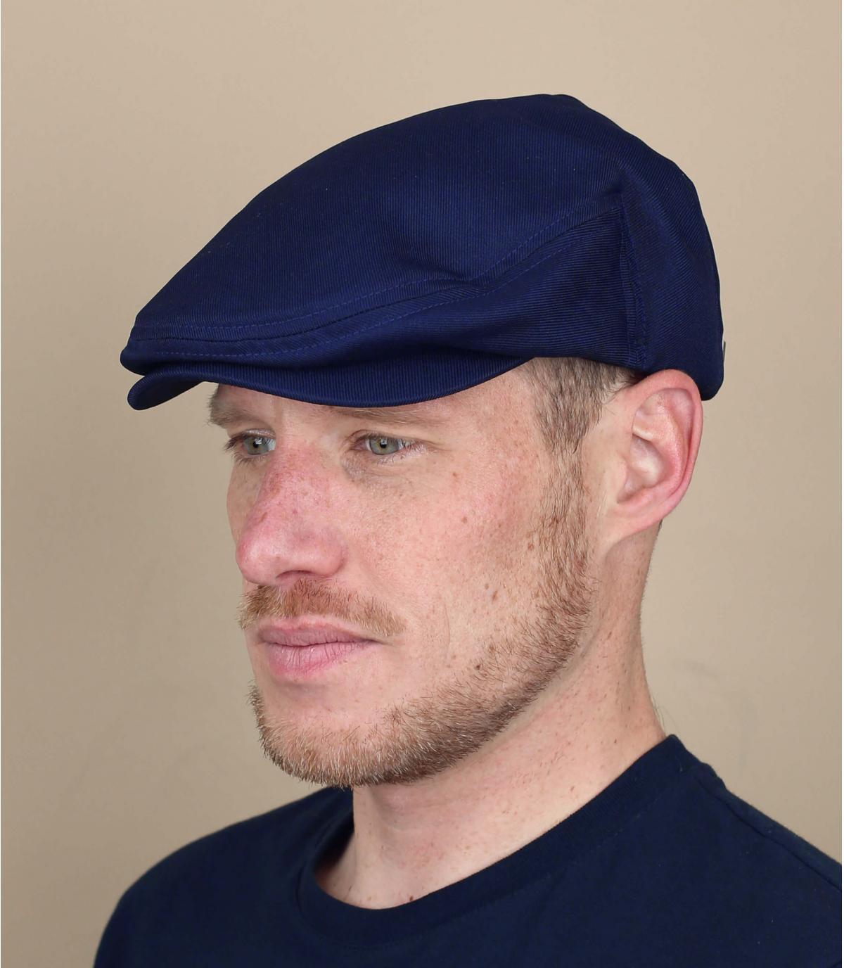 berretto blu marino Brixton