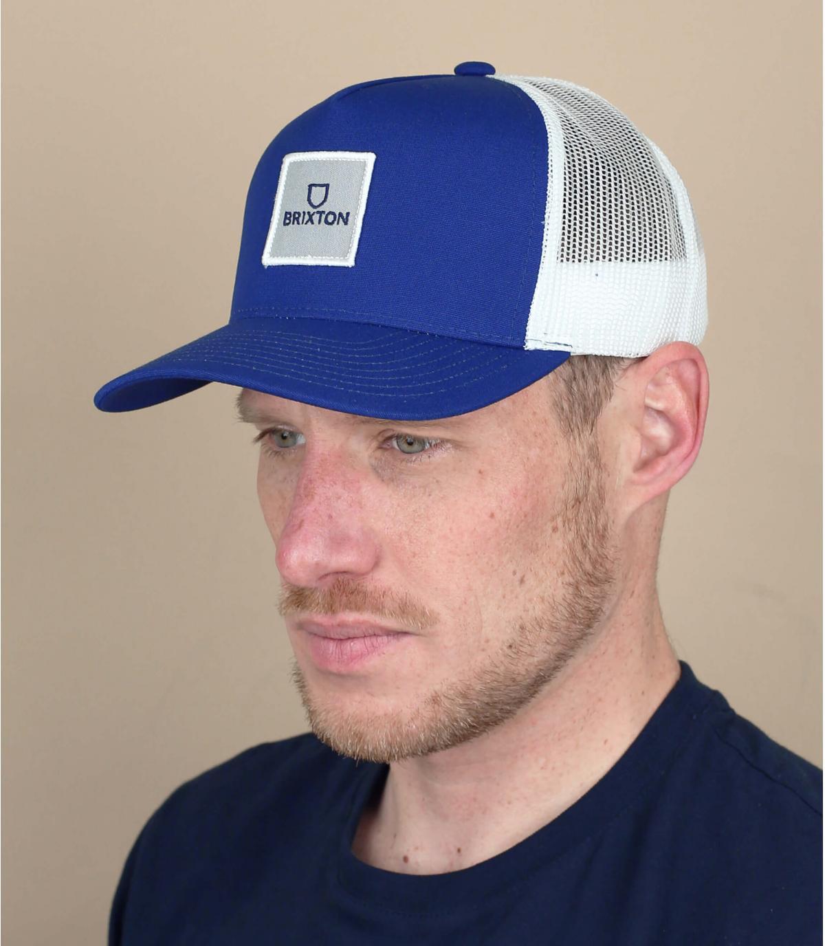 trucker Brixton blu marino