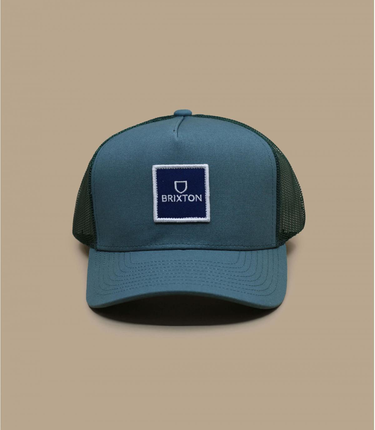 trucker Brixton blu grigio