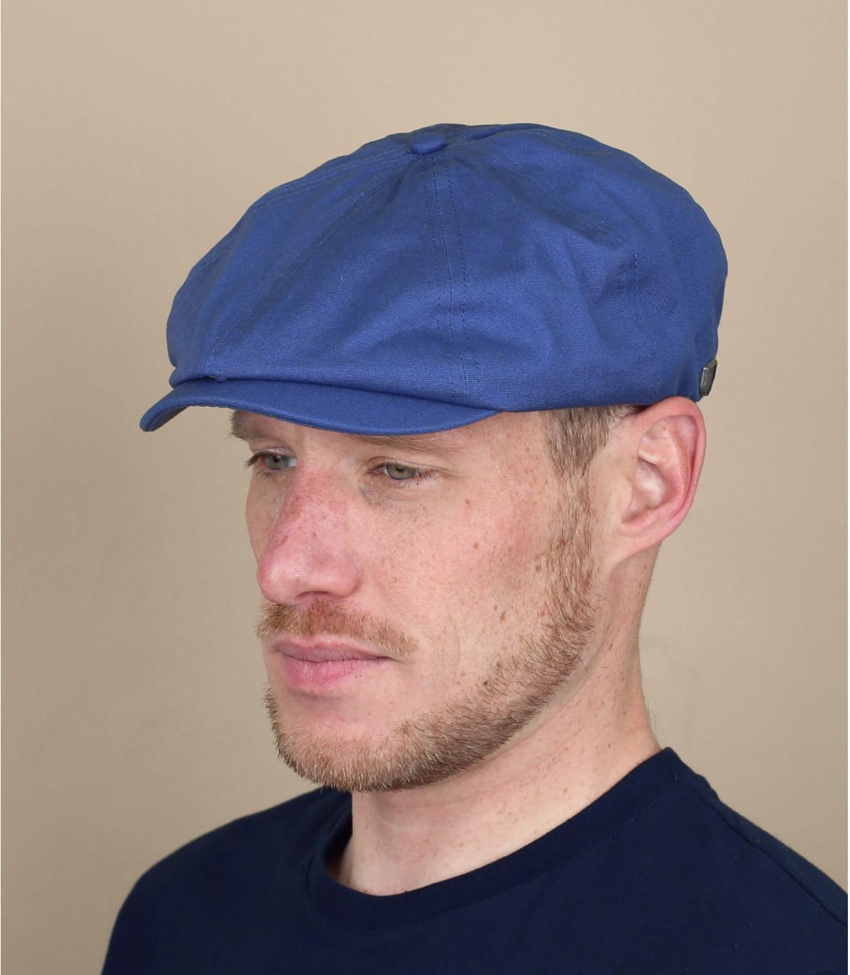 berretto gavroche blu Brixton