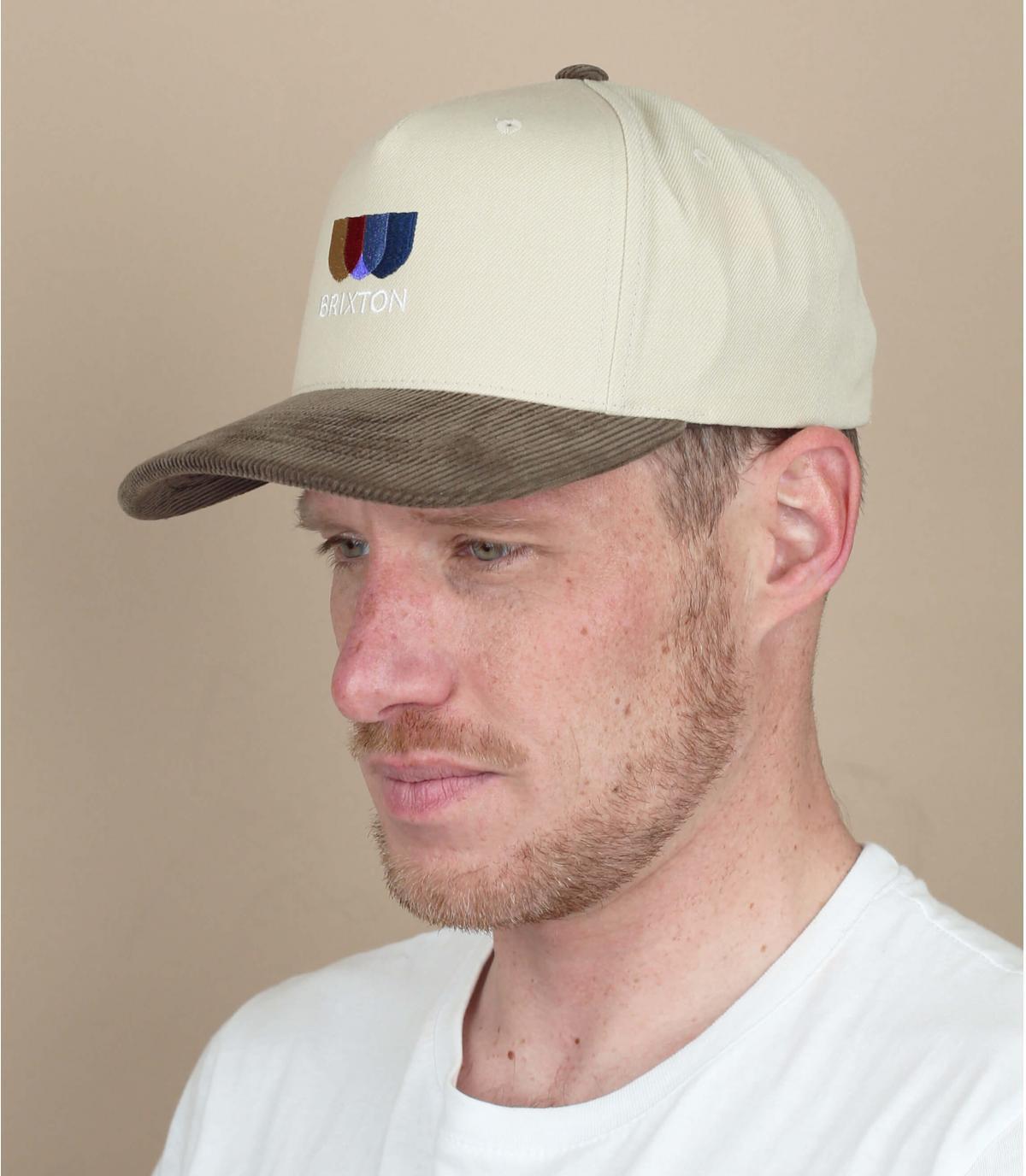 cappellino Brixton beige