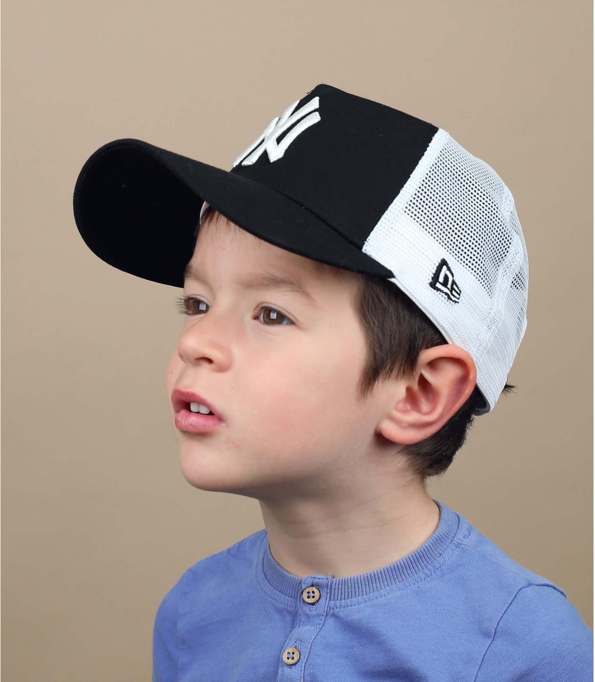 trucker bambino NY nero