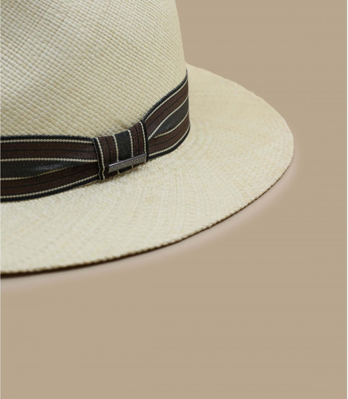 Dettagli Fedora Panama natural - image 3