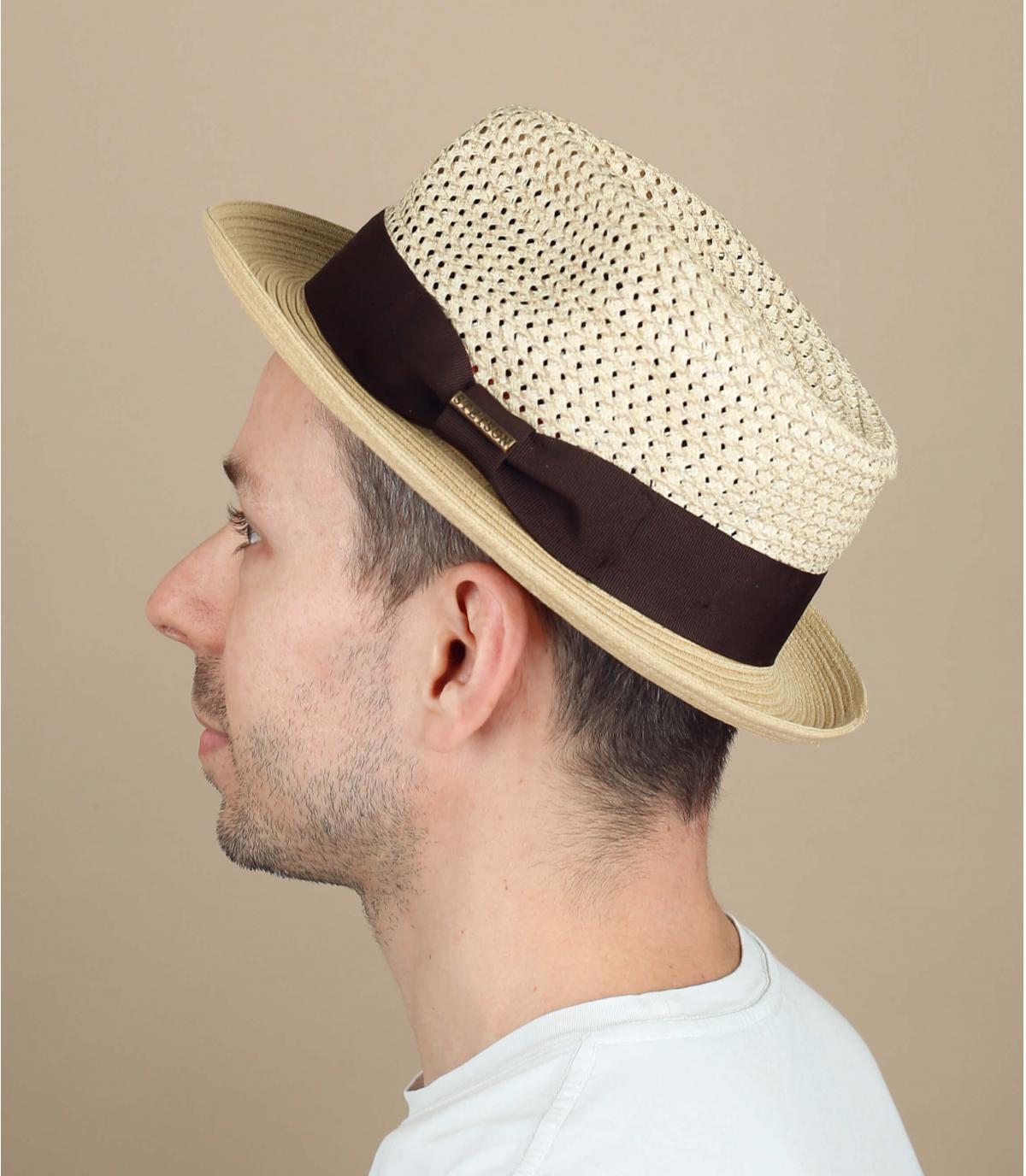 cappello di paglia Stetson
