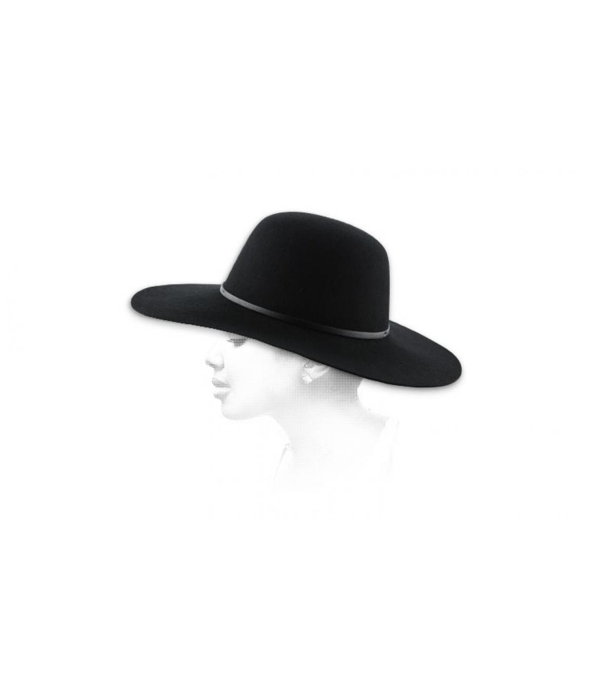 Cappello donna nero