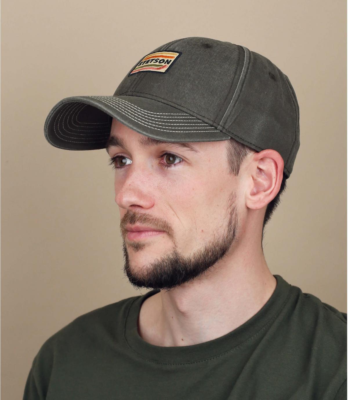 cappellino Stetson grigio