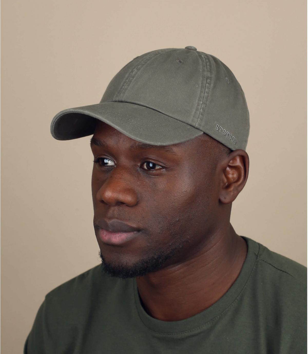 cappellino Stetson verde