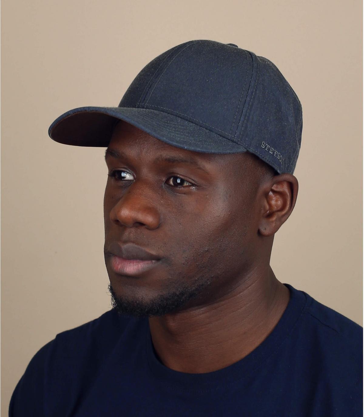 Cappellino idrorepellente grigio