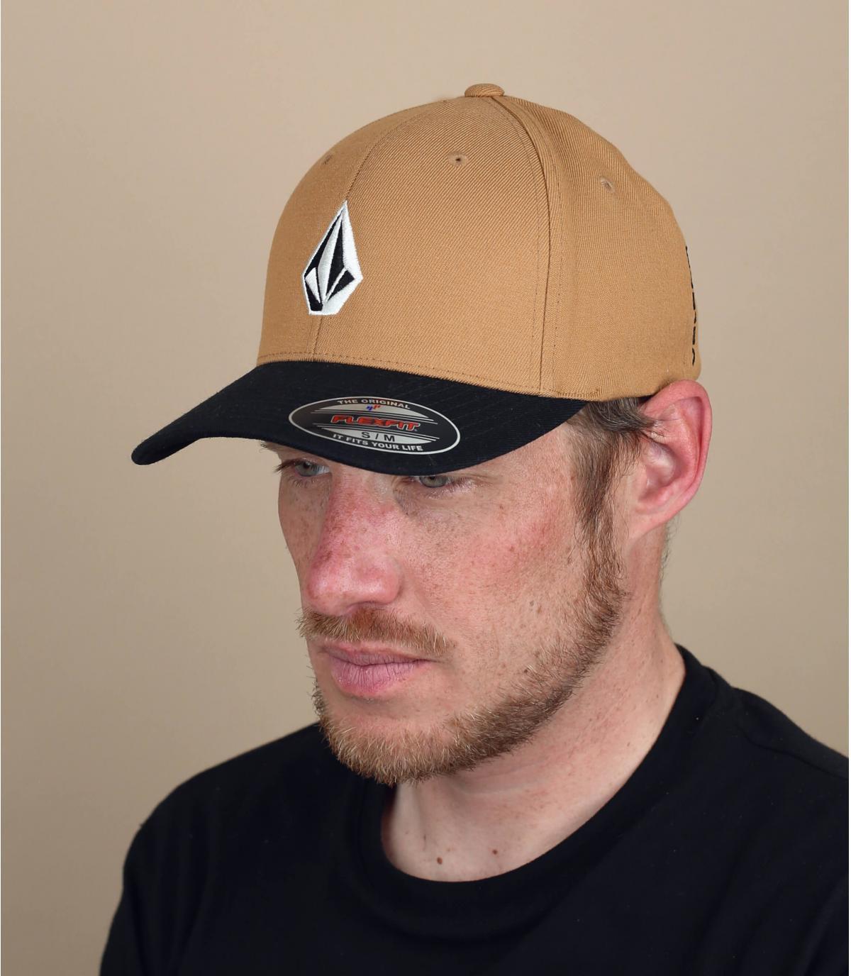 Volcom cappellino beige nero