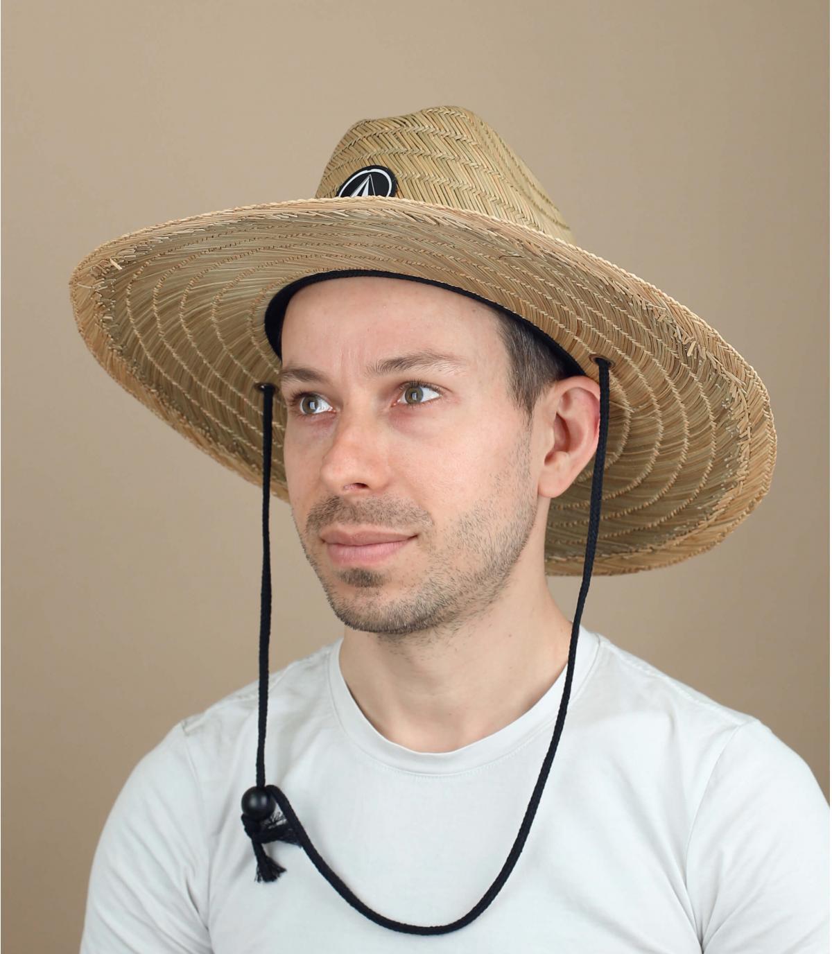cappello paglia Volcom