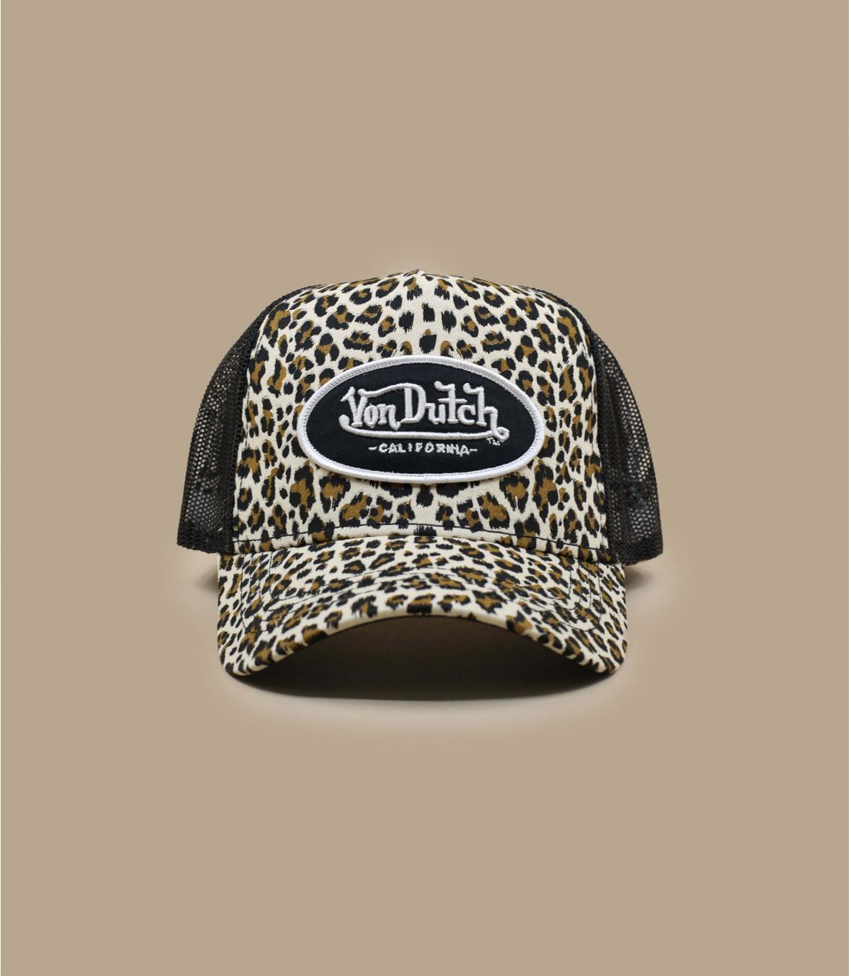 trucker leopardo Von Dutch