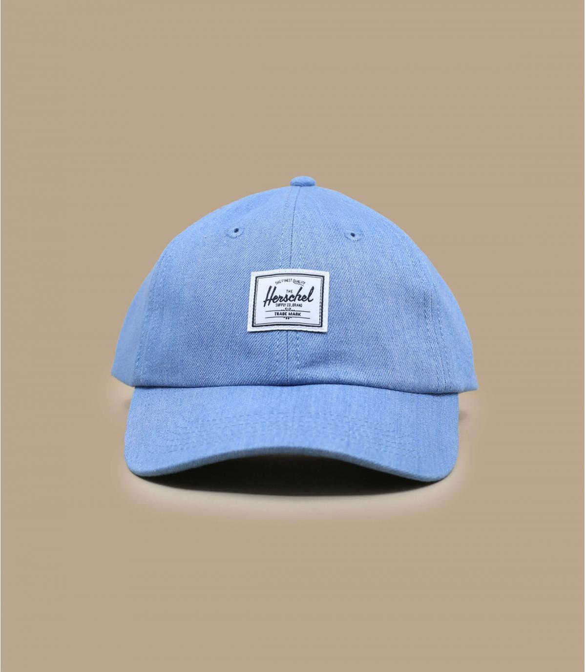 cappellino Herschel blu cielo
