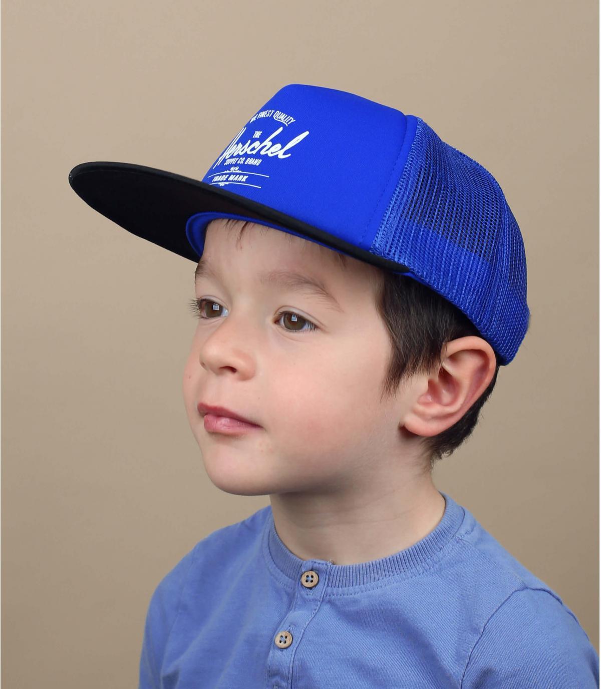cappellino bambino Herschel riflettente