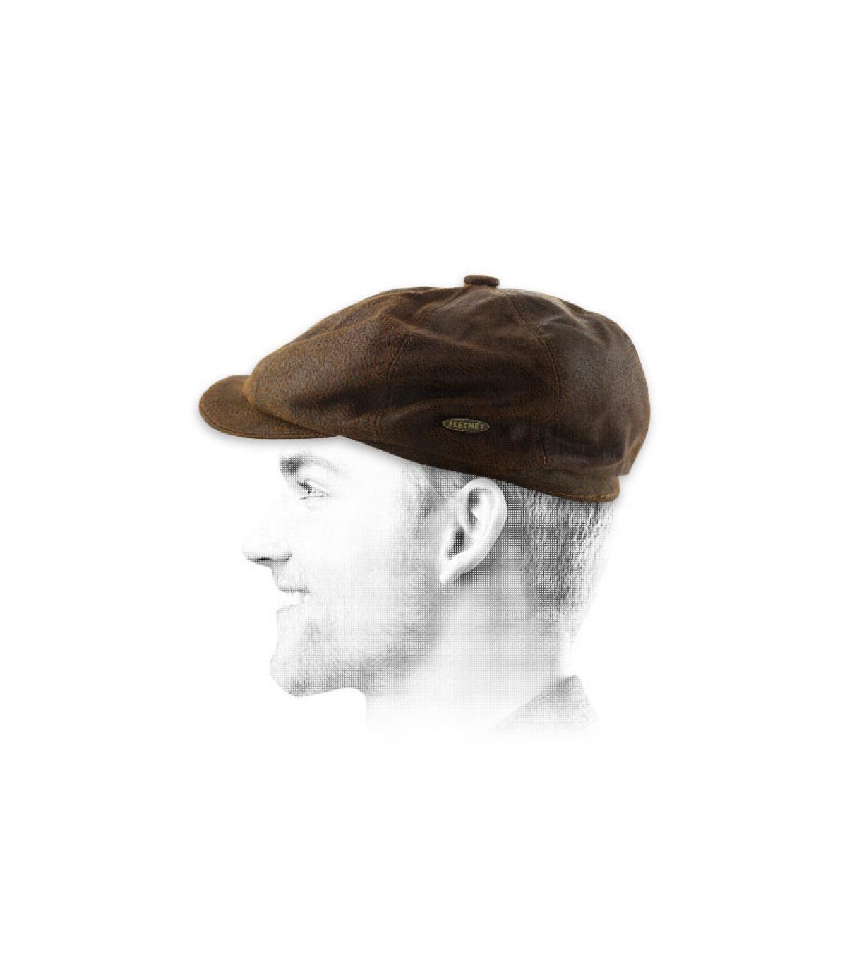 Cappellino pelle Flchet