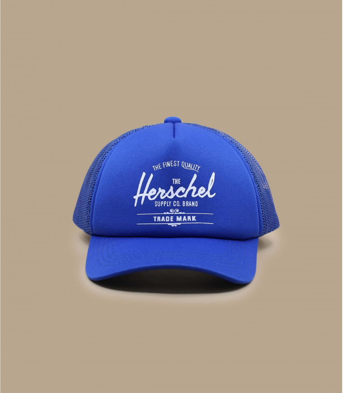 cappellino bebè Herschel blu