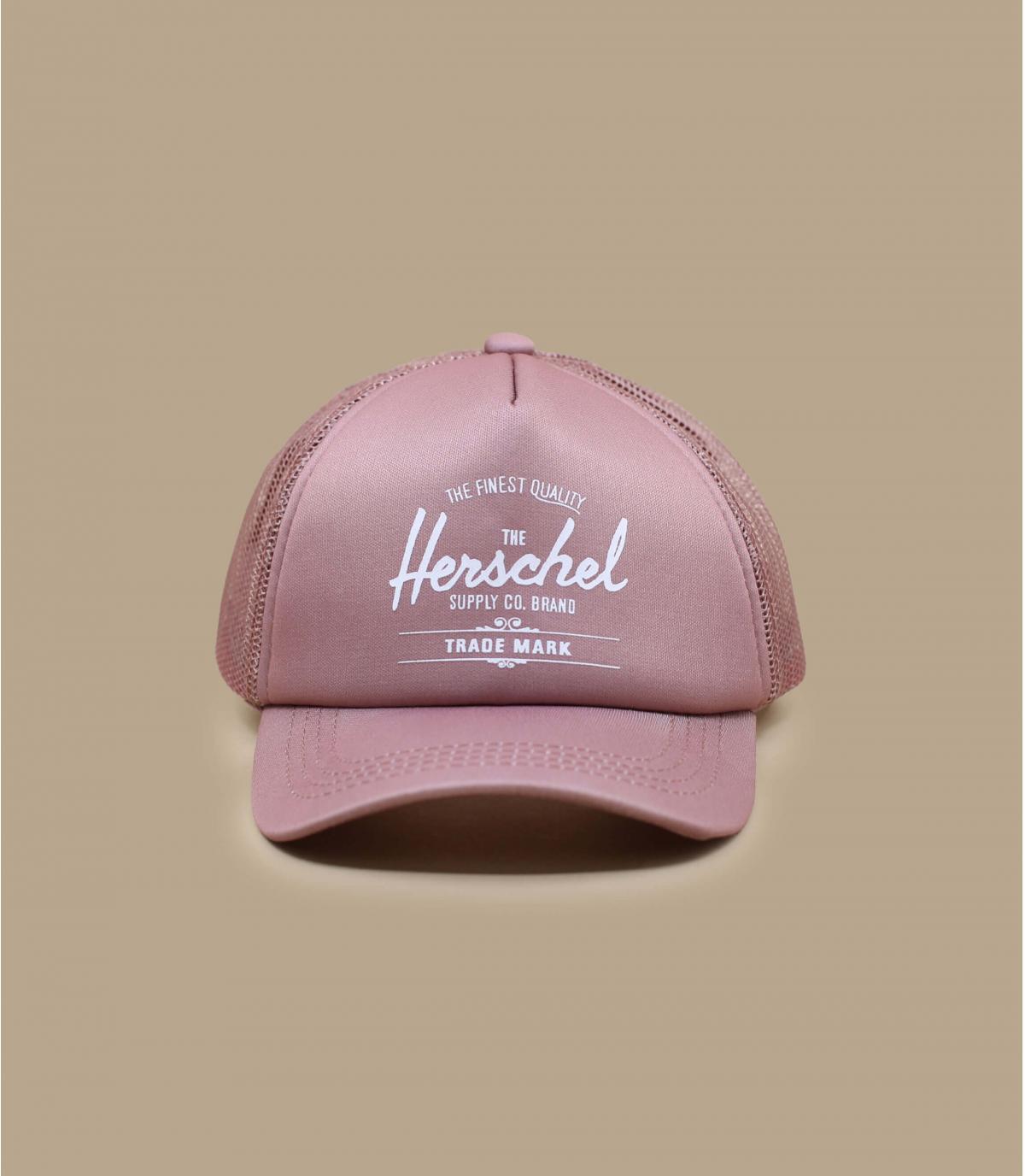 cappellino bebè Herschel rosa